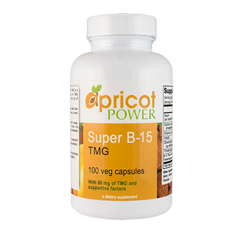 Apricot Power Super B-15 TMG - 100 Caps  | Energy Booster
