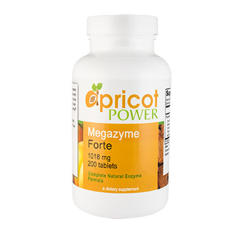 Apricot Power Megazyme Forte |  Enzyme Supplement