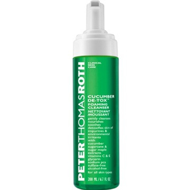 Peter Thomas Roth Cucumber De-tox Foaming Cleanser - 6.7 oz