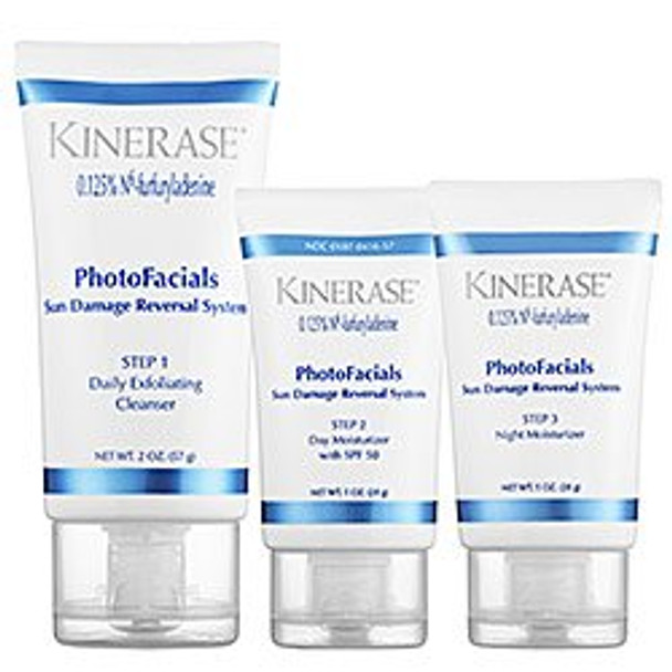 Kinerase PhotoFacials Sun Damage Reversal System Introductory Kit, 3 Step Kit