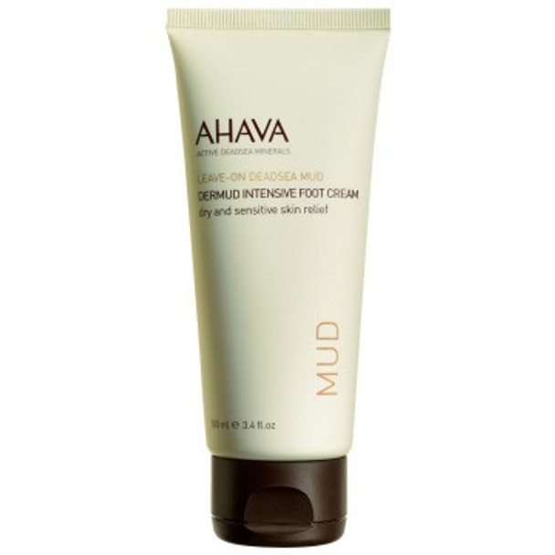 AHAVA DeadSea Mud Dermud Intensive Foot Cream - 3.4 oz
