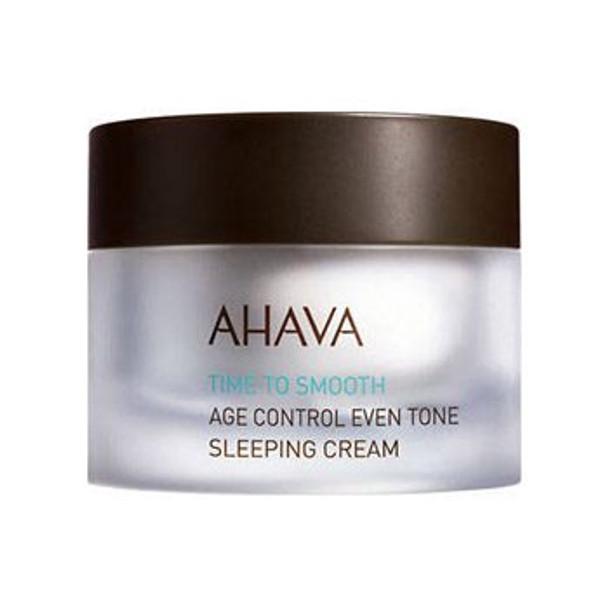 AHAVA Time to Smooth Control Even Tone Sleep Cream - 1.7 oz