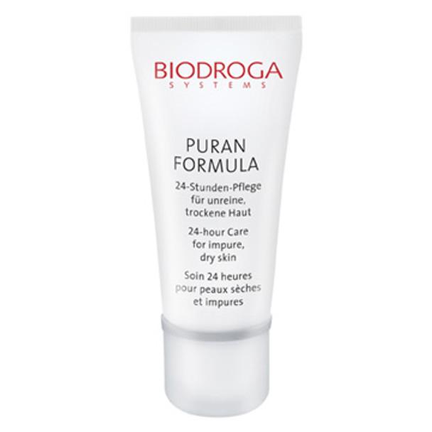 Biodroga Puran Formula 24 Hour Care for Impure Skin - Dry Skin - 1.4 oz (44036)