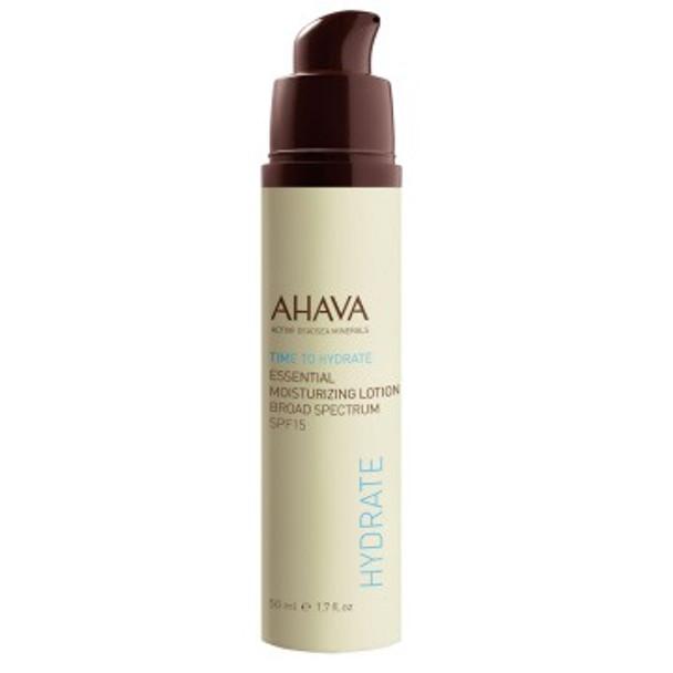 AHAVA Time To Hydrate Essential Moisturizing Lotion SPF 15 - 1.7 oz