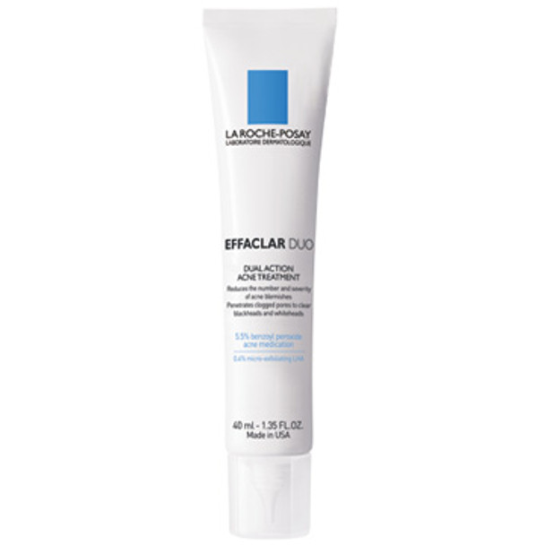 La Roche-Posay Effaclar Duo Dual Action Acne Treatment - 1.35 oz (S03572)