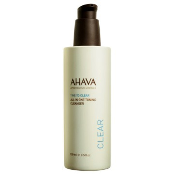 AHAVA Time To Clear All In One Toning Cleanser - 8.5 oz