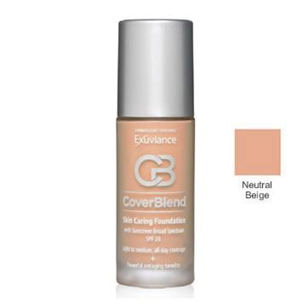 Exuviance Skin Caring Foundations SPF 20 - Neutral Beige