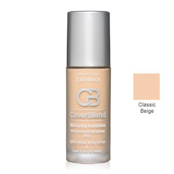 Exuviance Skin Caring Foundations SPF 20 - Classic Beige
