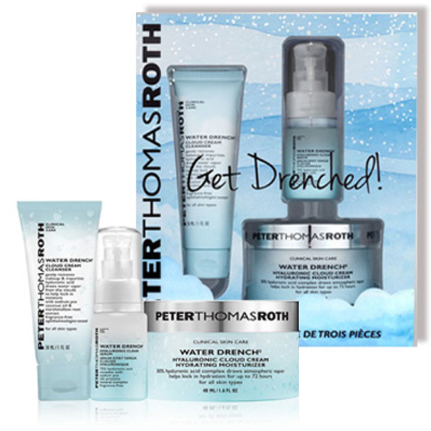 Peter Thomas Roth Get Drenched Kit - 3 pcs (PTR01038)