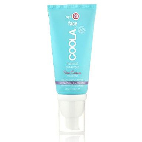 Coola Mineral Face SPF 20 Lotion Tinted Rose - 1.7 oz