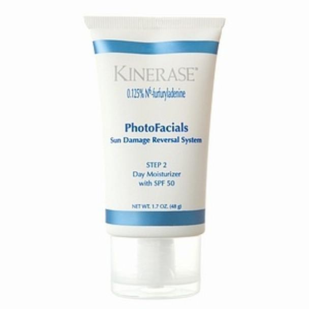 Kinerase PhotoFacials Day Moisturizer SPF 50 Step 2, 1.7 oz