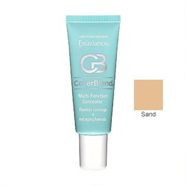 Exuviance CoverBlend Multi-Function Concealer,  0.5 oz Tube - Sand