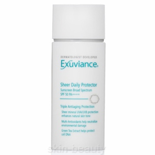 Exuviance Sheer Daily Protector SPF 50 PA++++ - 1.7 oz