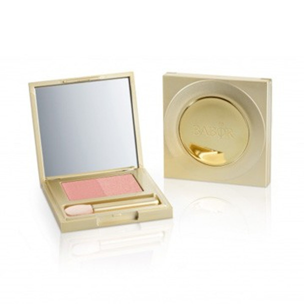 Babor Super Soft Eye Shadow Duo - 3g - 02 soft rose (508702)