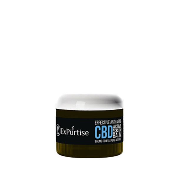 ExPurtise Effective Anti-Aging CBD Active Skin Balm - 2 oz