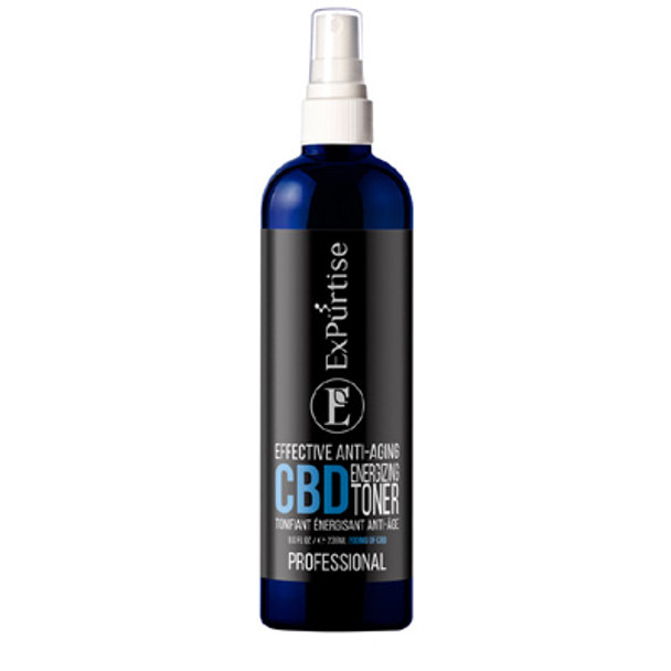 ExPurtise Effective Anti-Aging CBD Energizing Toner - 8 oz