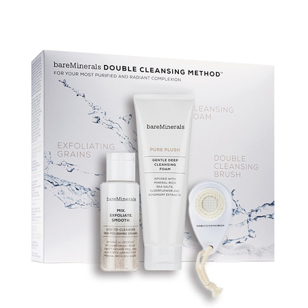 Bare Escentuals bareMinerals Double Cleansing Method Kit - 3 pcs