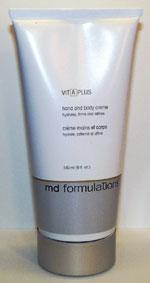 MD FORMULATIONS Vit-A-Plus Hand & Body Cream, 6 oz ® on Sale