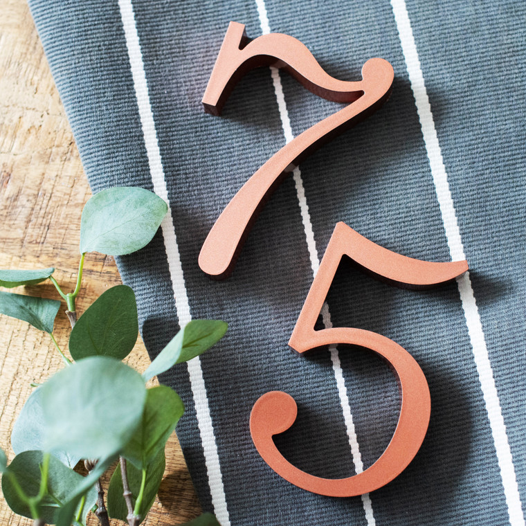 Sentinel slab serif font thin traditional for house numbers, letters and signs