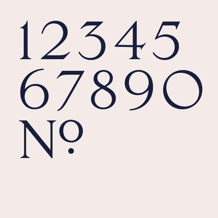 Numbers Trafalgar