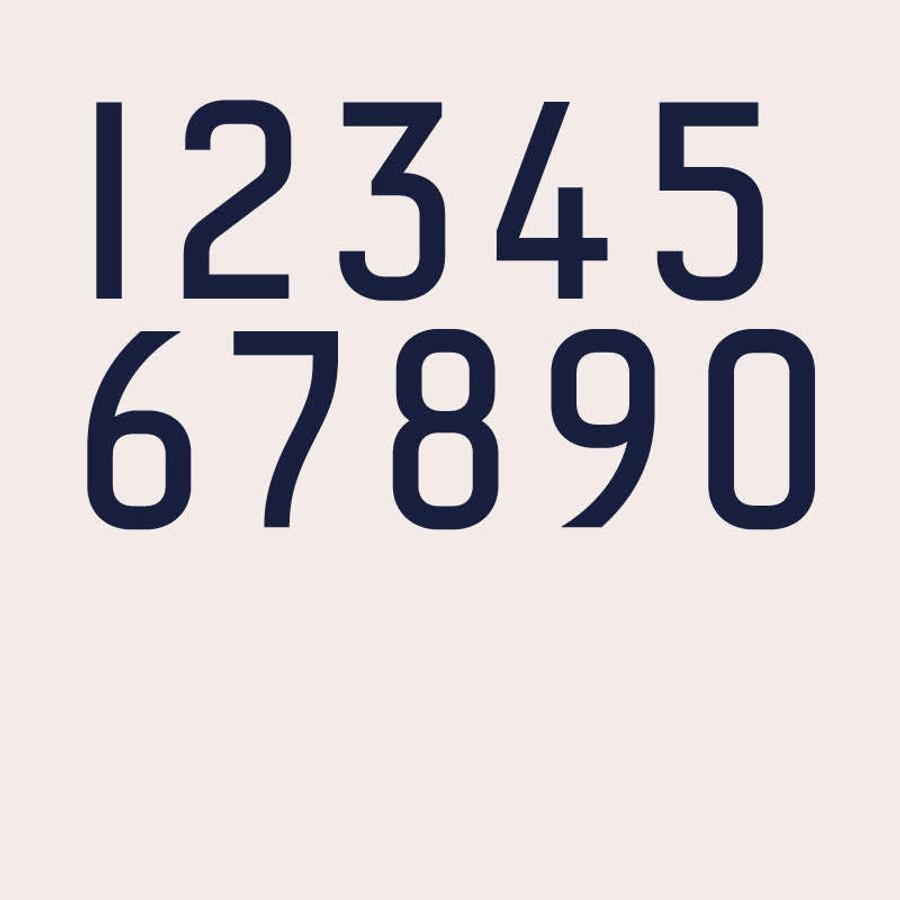 Numbers Redbird