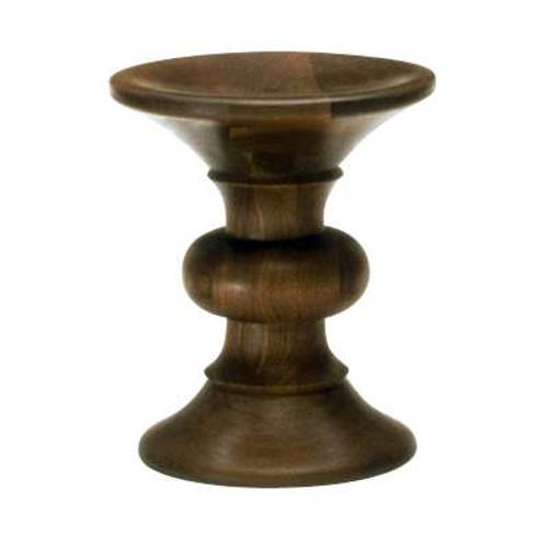 Eames Walnut Stool B by Herman Miller
