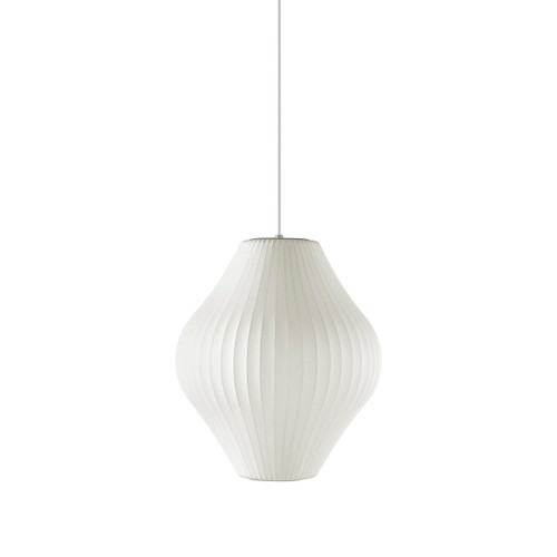 Nelson Pear Bubble Pendant by Herman Miller