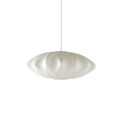 Nelson Saucer Crisscross Bubble Pendant by Herman Miller