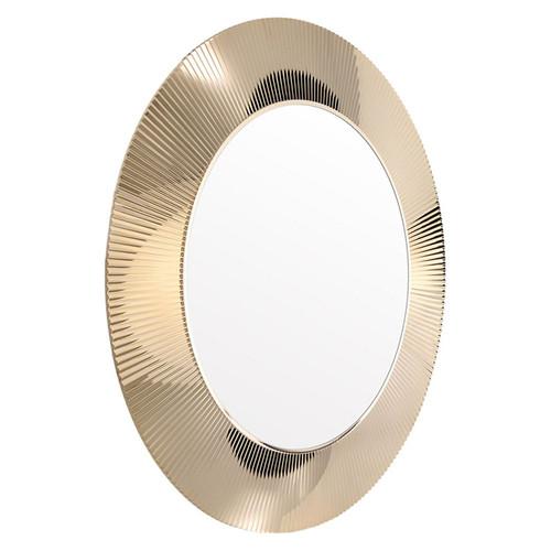 All Saints Metallic Mirror by Kartell