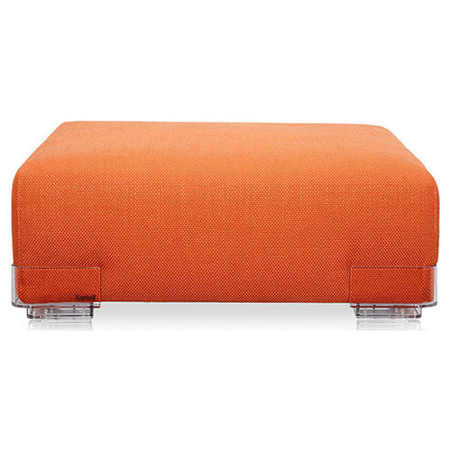 Plastics Duo Long Ottoman by Kartell