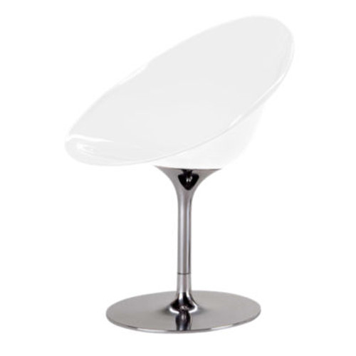 Ero S Chair by Kartell, Aluminum Base