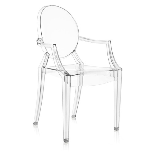Louis Ghost Chair by Kartell, Set of 2