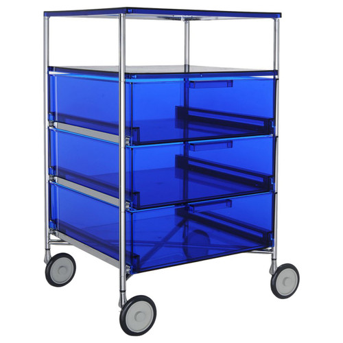 Mobil 3-Drawer Shelf Container by Kartell