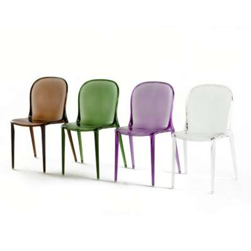 Thalya Chair by Kartell, Set of 2