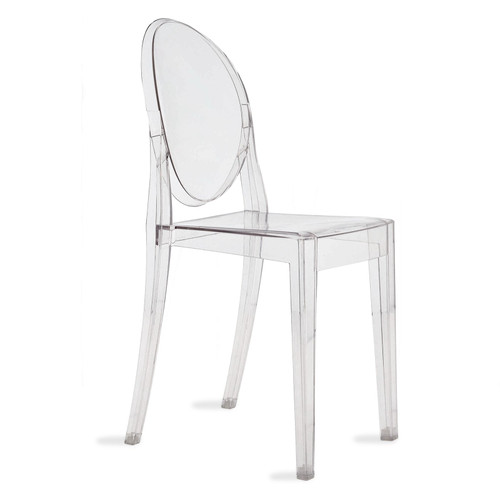 Victoria Ghost Chair by Kartell, Set of 2