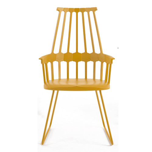 Comback Chair by Kartell, Sled Base