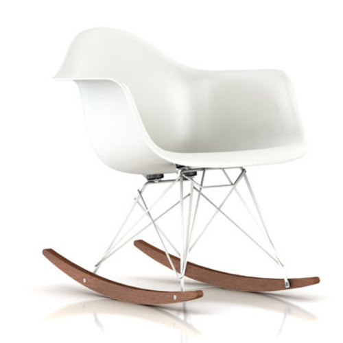 Eames Molded Plastic Rocking Chair by Herman Miller