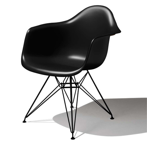 Eames Molded Plastic Armchair by Herman Miller