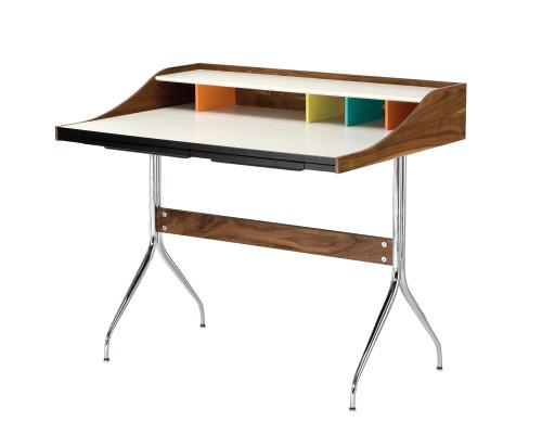 Nelson Swag Leg Desk by Herman Miller