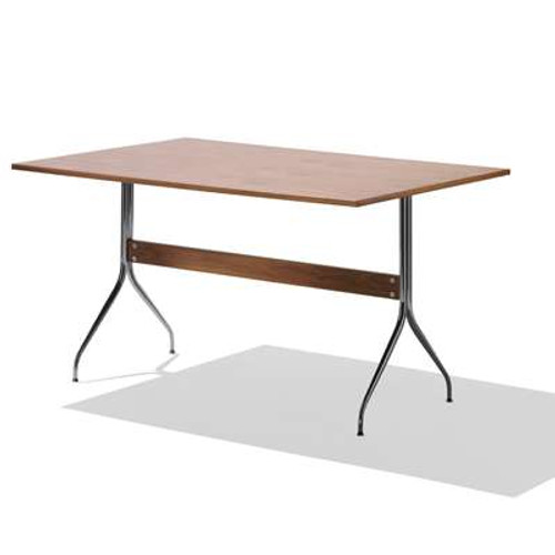Nelson Swag Leg Work Table by Herman Miller