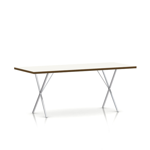 Nelson X-Leg Table, Laminate Top by Herman Miller