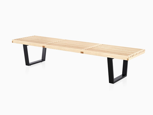"Nelson Platform Bench by Herman Miller, 72"" Wide"