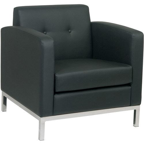 Work Smart Wall Street Club Lounge Chair