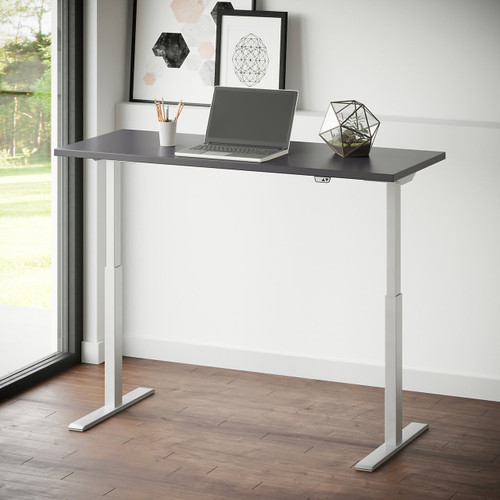 "Ridella 60"" Sit to Stand Desk by National Office Furniture"