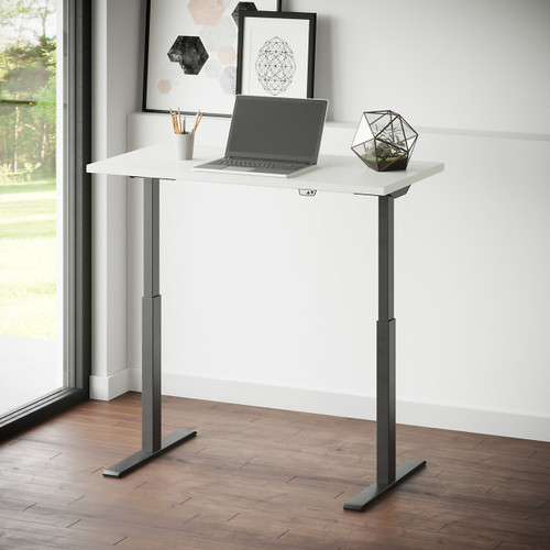 "Ridella 48"" Sit to Stand Desk by National Office Furniture"