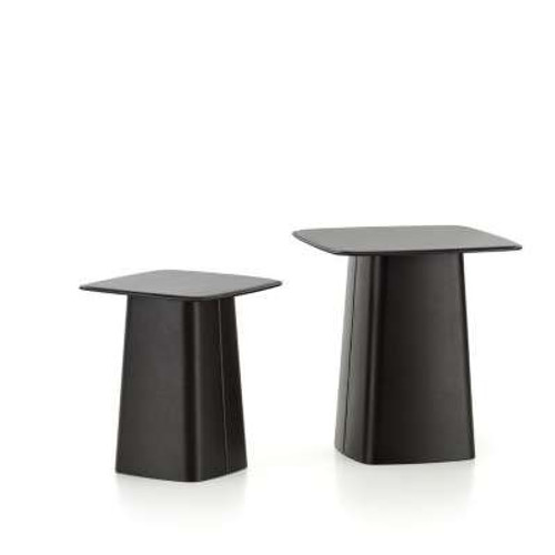 Leather Side Tables by Vitra