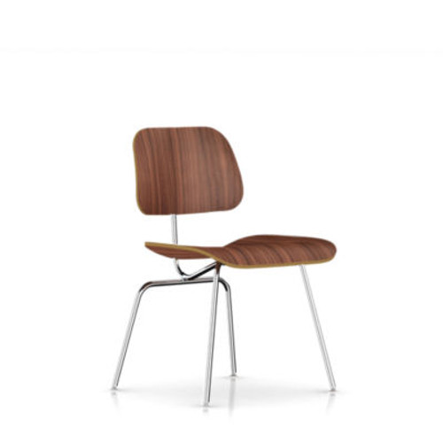Eames Plywood Dining Chair with Metal Legs by Herman Miller