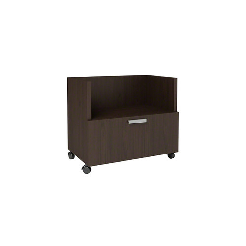 Currency Mobile Cart with Lateral Drawer by Steelcase
