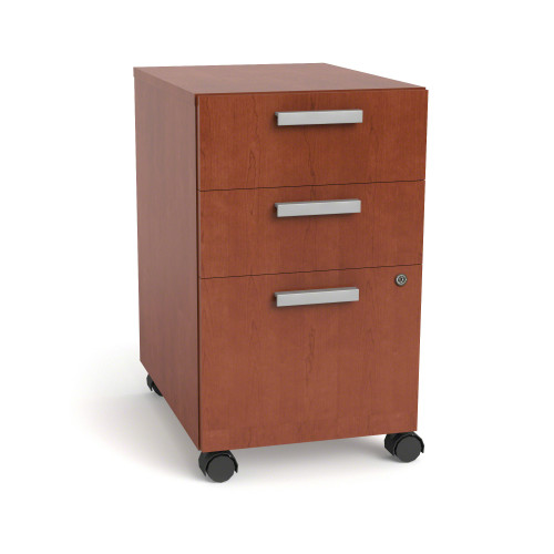 Currency Mobile Pedestal with Two Box Drawers and One File Drawer by Steelcase