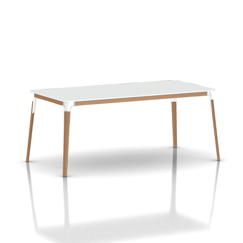 Steelwood Rectangular Table by Magis